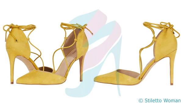 ALDO Finsbury - yellow color heels