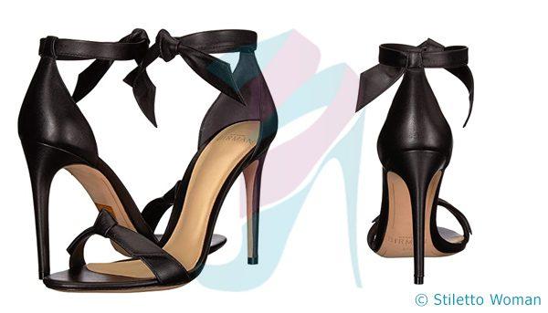 Alexandre Birman Clarita - Black Ankle Strap Heel