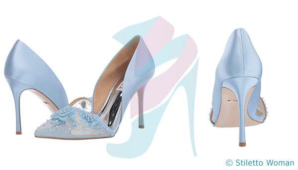 Badgley Mischka - Light Blue color stiletto heels