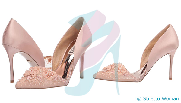 Badgley Mischka - Pink Soft Blush color heel
