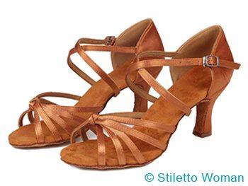 Ballroom heels