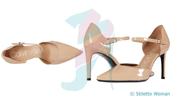 Calvin Klein Roya - cream color stiletto shoes