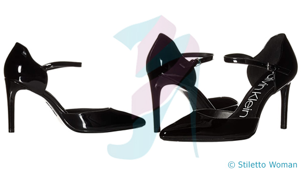Calvin Klein Roya - black color stiletto shoes