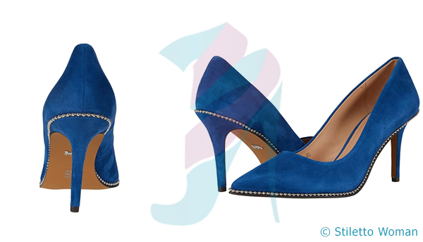 COACH - Ocean Blue stilettos