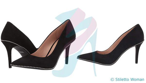 COACH - Black stiletto heels