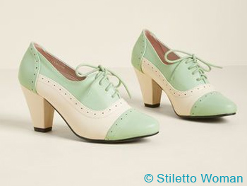 The Dance It Up Oxford Heels