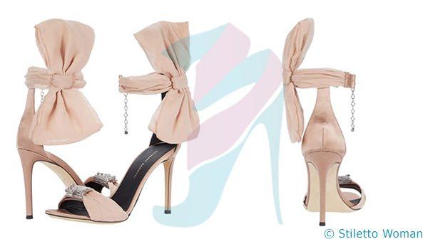 Giuseppe Zanotti Etoile - Ankle Strap nude color