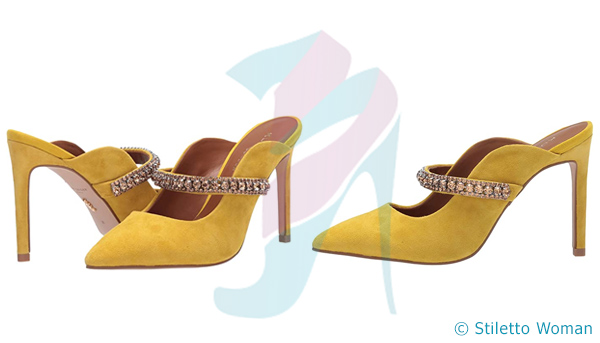 Kurt Geiger London Duke - yellow stiletto shoes