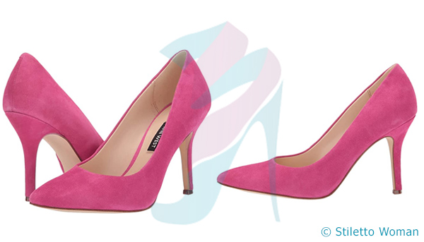 Nine West Flax Pump - pink heels
