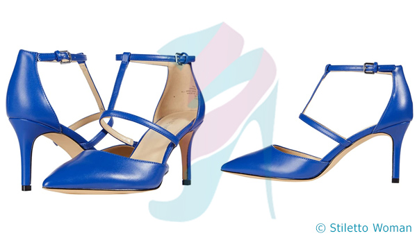Nine West Marlo - blue color Ankle Strap Pump