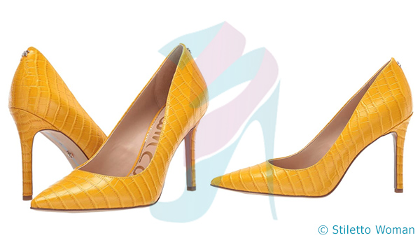 Sam Edelman Hazel - yellow color heels