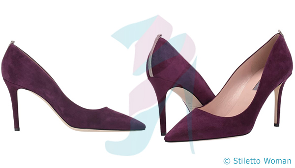 SJP - maroon color stiletto