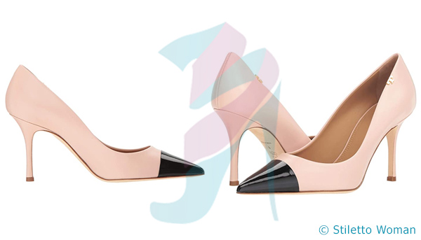 Tory Burch - Shell Pink color stiletto heel