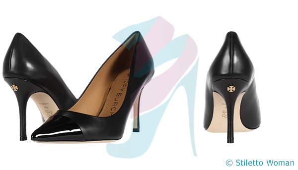 Tory Burch - Black color stiletto heels