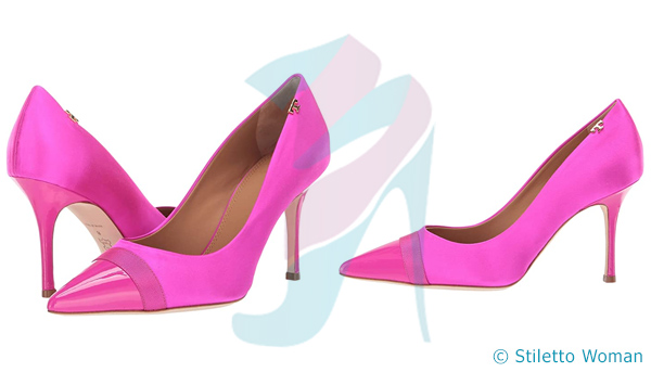 Tory Burch - Imperial Pink color stilettos